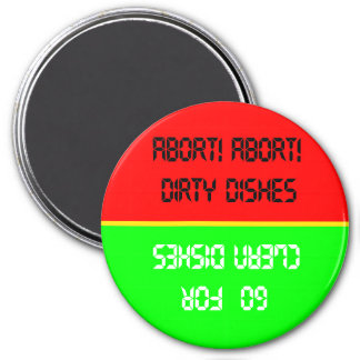 Go For Clean- Red/Green Dishwasher Magnet