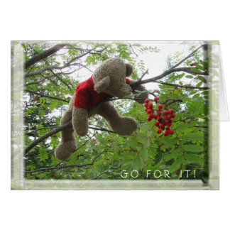 Go For It! Greeting Card