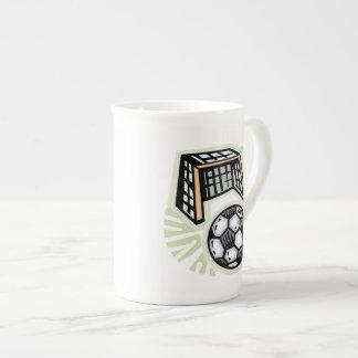 Go For The Goal Porcelain Mugs