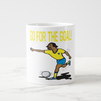 Go For The Goal Extra Large Mugs
