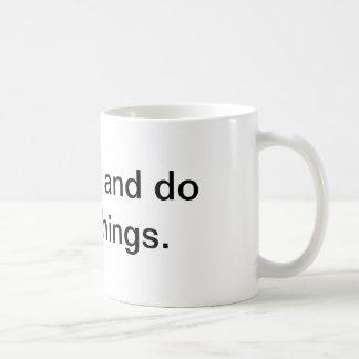 go forth mug