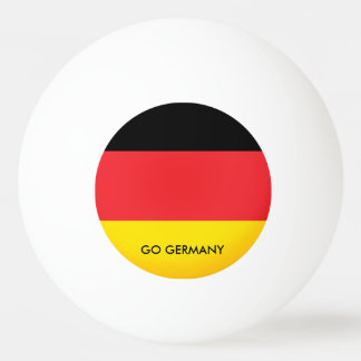 GO GERMANY PING PONG BALL