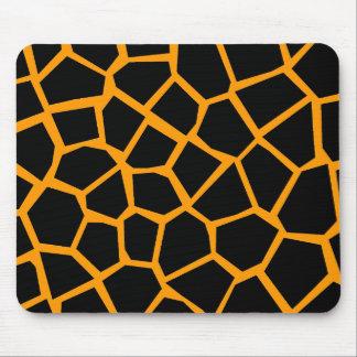 Go Giraffe - Orange Mouse Pad