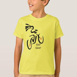 Go Girl Bike T-Shirt