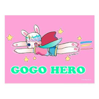 Go Go Gero Postcard