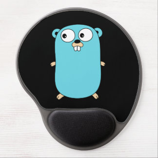 Go Golang squirrel Smooth Gel MousePad Wrist Safe