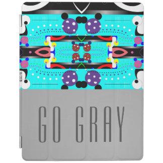 Go Gray iPad Cover