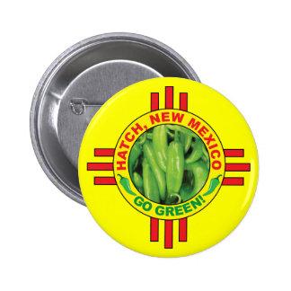 Go Green! 6 Cm Round Badge
