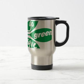 go green and save coffee mug