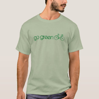 go green, bicycle T-Shirt