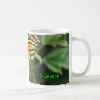 GO GREEN! Butterfly Colors of Spring Mug