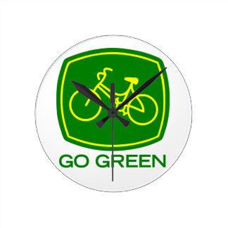 Go Green Clock