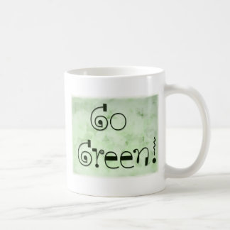 Go Green coffe mug