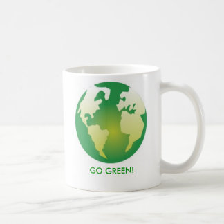 GO GREEN! COFFEE MUG