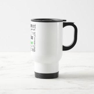 Go Green Collage Mugs