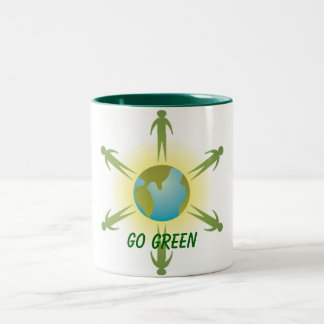 Go Green Cup Mug