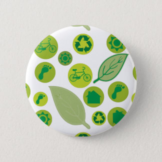 Go Green Customize Product 6 Cm Round Badge