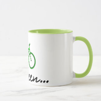 Go Green - Cycling Coffee Mug