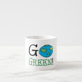 Go Green Earth Day Espresso Cup