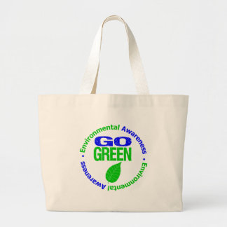 Go Green For The Environment Tote Bags