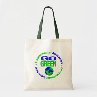 Go Green For the Environment v2 Tote Bag