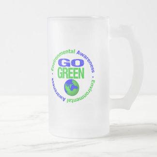 Go Green For the Environment v2 Coffee Mugs