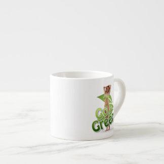 Go Green Girl Belle Espresso Mug