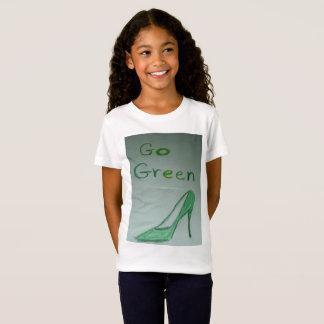 Go Green Girls Jersey T-shirt