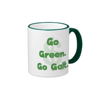 Go Green Go Galt Coffee Mugs
