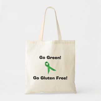 Go Green! Go Gluten Free! Bag