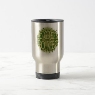 Go Green, Go Veg Mugs