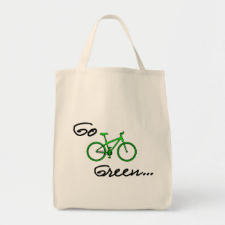 Go Green Grocery Tote - Eco Friendly Gift