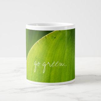 go green mug jumbo mug