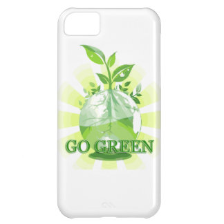 GO GREEN multiple products selected iPhone 5C Case