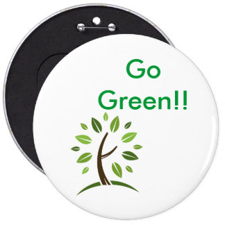 Go Green Pin