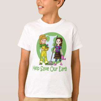 Go Green Pinky and Peanut T-Shirt