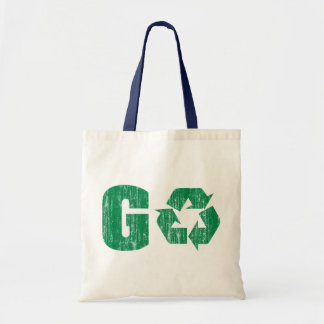 Go Green Recycle Canvas Bag