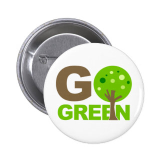 Go Green Recycle Tree Pins