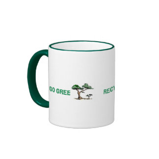 GO GREEN...RECYCLE YOUR EDUCATION Mug - Customized