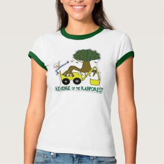 Go green. Reduce, reuse, recycle. Rain forest. Tee Shirt