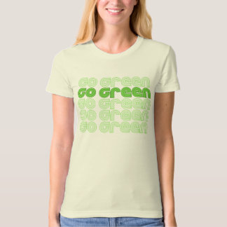 Go Green Retro - t-shirt