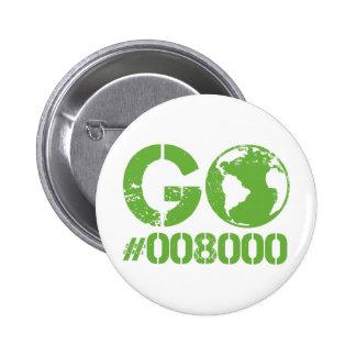 Go Green RGB CMKY Pins