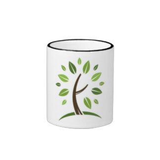 Go Green Ringer Mug