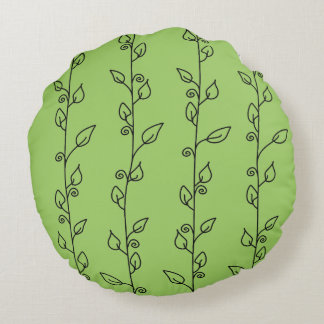 Go Green Round Cushion