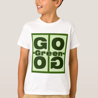Go Green Square Tees