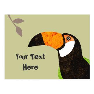 Go Green Toucan Toco Postcard