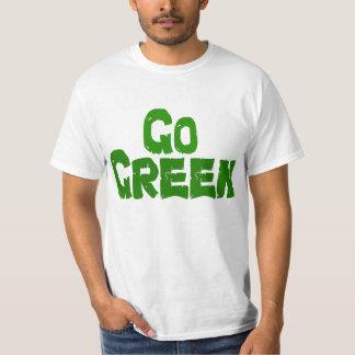 GO Green Tshirt