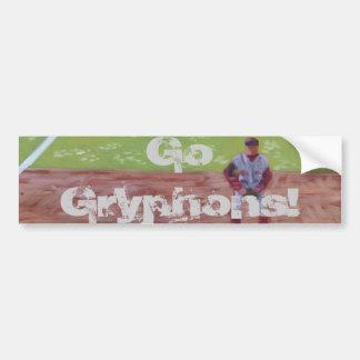 Go Gryphons Bumper Sticker
