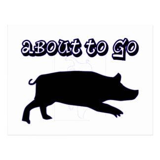 Go Ham! Postcard