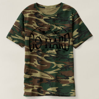 GO HARD STREET ARMY FATIGUE T-Shirt